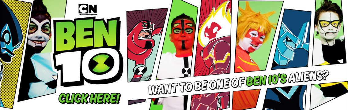 Ben 10 | Play the best Ben 10 Games and Videos | Cartoon Network
